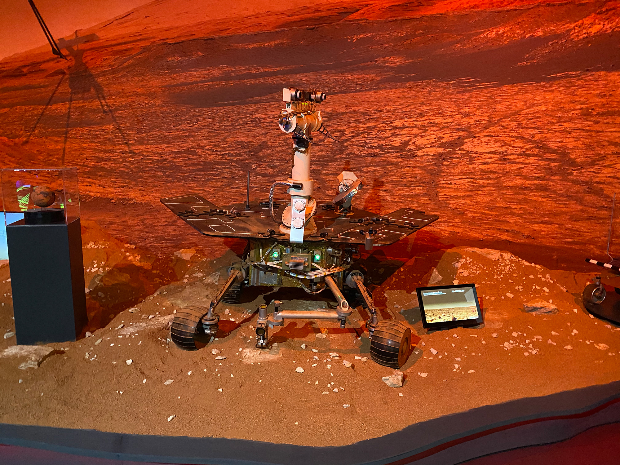 Marsausstellung Verkehrshaus
